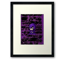 Chibi Raven Framed Print