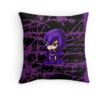 Chibi Raven Throw Pillow
