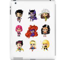 Chibi Heroines 2 iPad Case/Skin