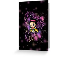 Chibi Jubilee Greeting Card