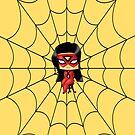Chibi Spiderwoman by artwaste