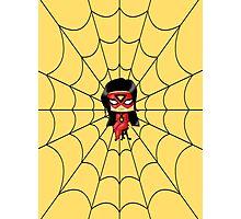 Chibi Spiderwoman Photographic Print