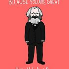Karl Marx by Ben Kling
