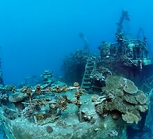 Khanka - The Russian Wreck and Story by Norbert Probst