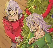 YGO tendershipping Xmas by thooruchan