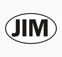 JIM - Oval Identity Sign by Ovals
