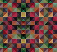 colorful triangles  by csecsi