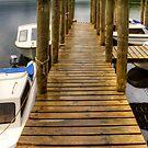 Wooden Pier at Derwentwater by Tom Gomez