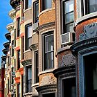 Brooklyn Brownstones by depsn1