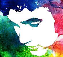 rainbow eyelashes by cocosuspenders