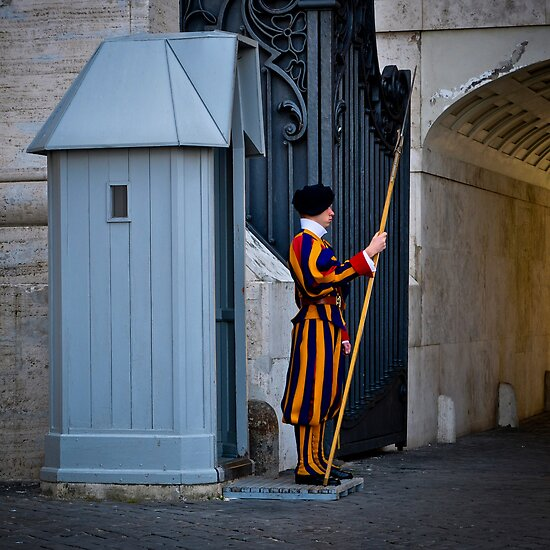 Vatican Guard by Thomas Barker-Detwiler