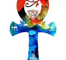 Unity 16 - Spiritual Artwork by Sharon Cummings