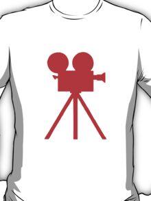 Red Tripod. T-Shirt