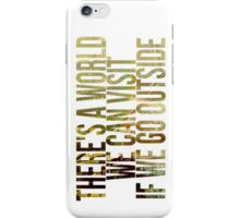 Outisde iPhone Case/Skin