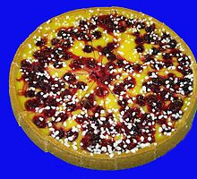 Mouth Watering Cherry and Custard Pie by kathrynsgallery