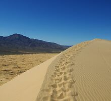 Mojave Dune, California by Claudio Del Luongo