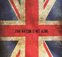 John Watson Is Not Alone iPhone Case by holmed