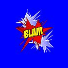 Blam! Comic Word by bowtiedarling