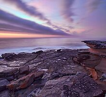 Looking South at Cape Banks, NSW by Malcolm Katon