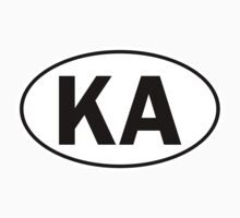 KA - Oval Identity Sign by Ovals