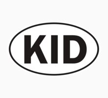 KID - Oval Identity Sign by Ovals
