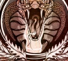 Snake Crest Sticker