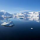Reflecting on Antarctica 075 by Karl David Hill