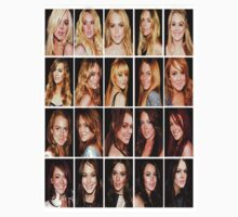 Lindsay Lohan's hair color evolution by lilolover