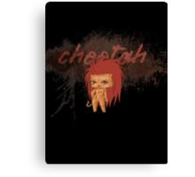 Chibi Cheetah Canvas Print