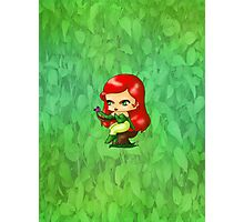 Chibi Poison Ivy Photographic Print