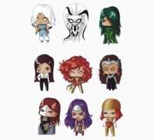 Chibi Villainesses 2 Kids Clothes