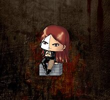Chibi Typhoid Mary by artwaste