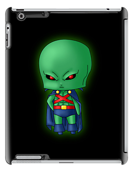 Chibi Martian Manhunter by artwaste