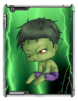 Chibi Hulk by artwaste