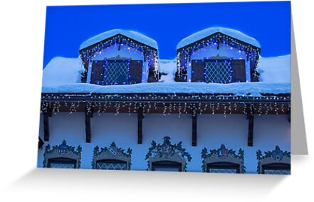 Christmas in Leavenworth at Twilight by Jim Stiles