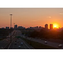 Highway 401 West of Don Mills (#364) Photographic Print