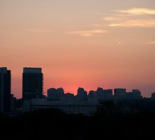 Dusk West of Don Mills (#389)  by Gary Chapple