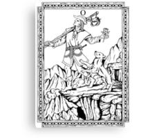 TAROT: The Fool Canvas Print