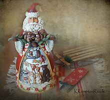 Wildlife Santa by Kay Kempton Raade