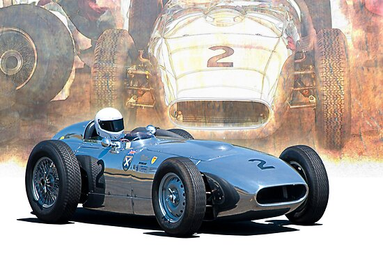 1958 Lister Jaguar Monza by Stuart Row