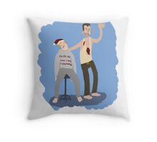 Yippeekiyay Mr. Falcoln Throw Pillow