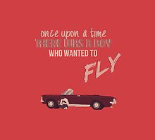 The Boy Who Wanted To Fly by blainageatrois