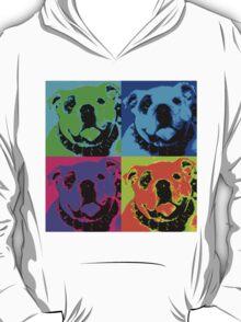 English Bulldog Pop Art T-Shirt