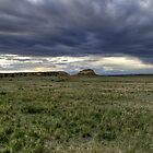 Pawnee Buttes Cloudscape by Michael Kirsh