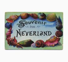 Vintage Postcard: Souvenir from Neverland by Chunga