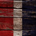 Vintage Netherlandsa Flag - Cracked Grunge Wood by UltraCases
