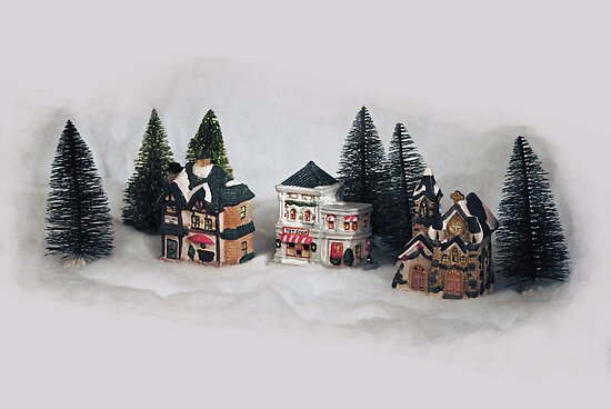 Christmas Village by MarjorieB