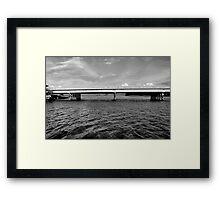 Highway 1 Bridge Over Elkhorn Slough Framed Print