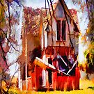 Homeless Old House iPad Case by ipadjohn