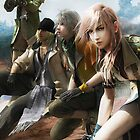 final fantasy XIII by falcon333